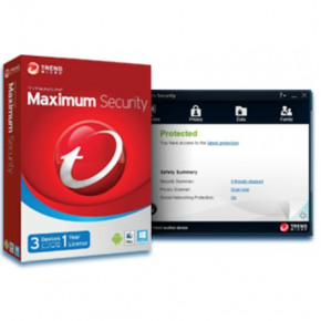 Trend Micro Maximum Security 3 Cihaz 1 Yıl