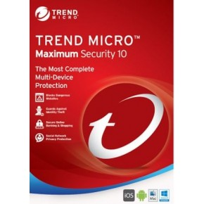 Trend Micro Maximum Security 5 Cihaz 1 Yıl