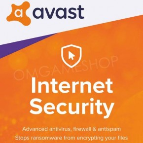 [1 PC] [1 YIL] AVAST INTERNET SECURITY 2020 LİSANS KEY